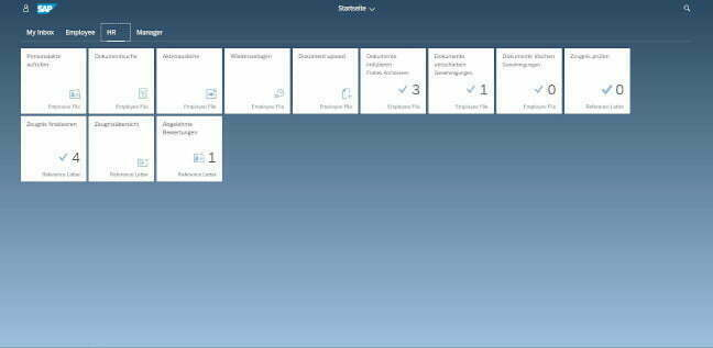 SAP FIORI and the Launchpad - What SAP applications look like today.