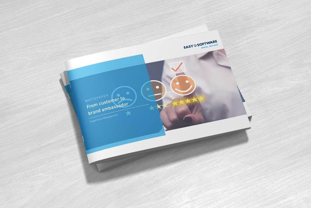 Whitepaper: From costumer to brand ambassador - Experience Management