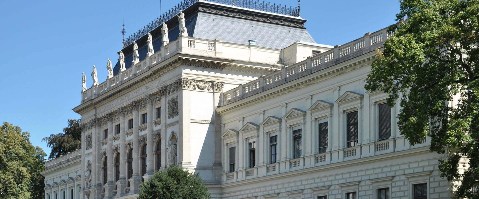 Das altehrwürdige Gebäude der Karl-Franzens-Universität Graz – ein Referenzkunde der EASY SOFTWARE