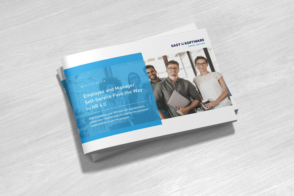 Whitepaper: With employee and manager self-service to HR 4.0