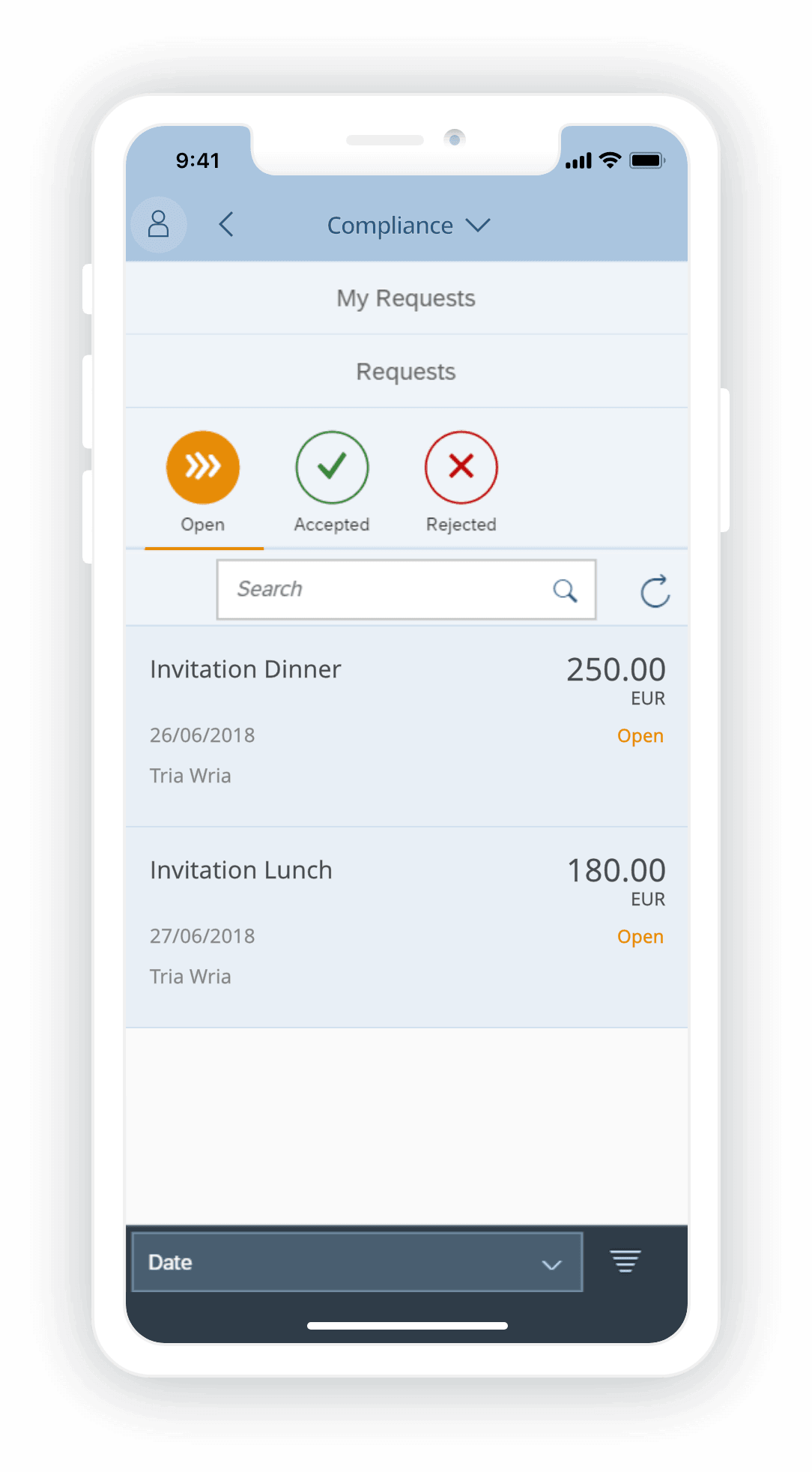EASY Compliance Management app