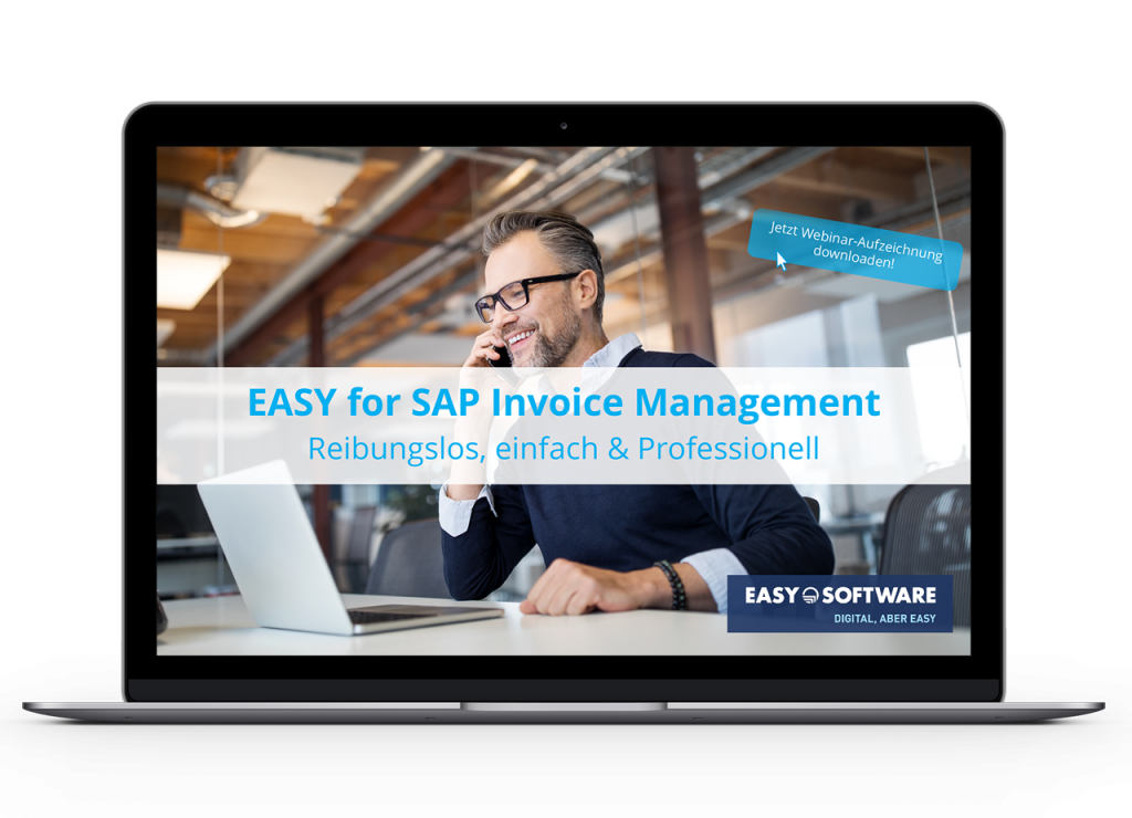Webinar Aufzeichnung EASY Invoice Management for SAP Solutions