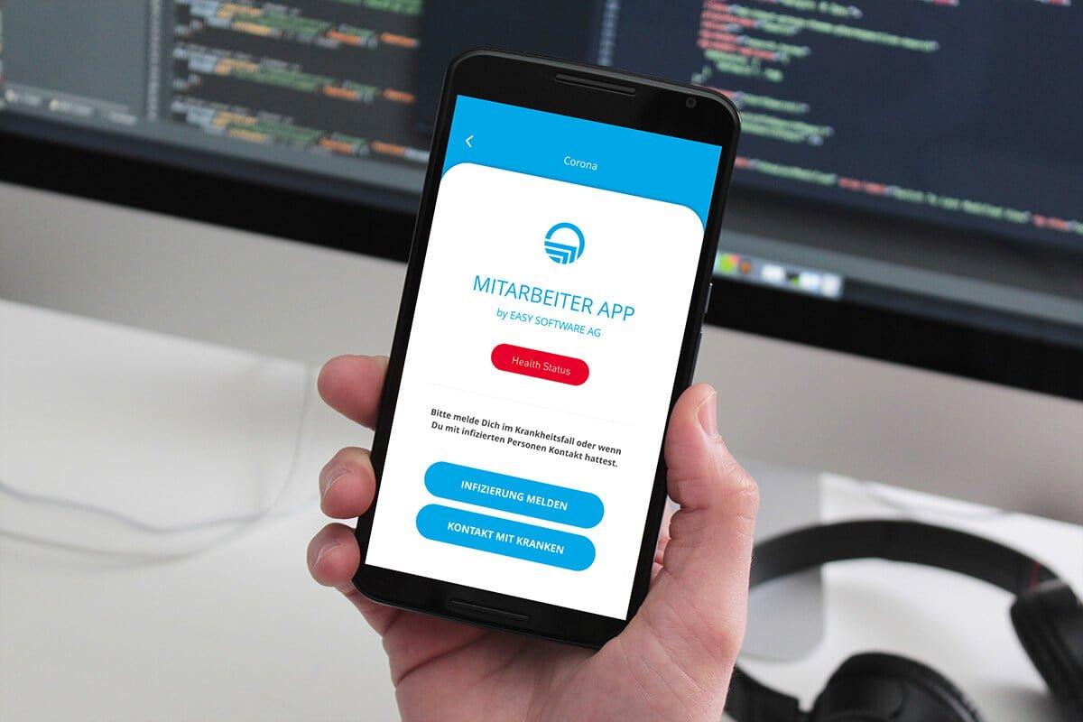 Mitarbeiter-App - Health Modul