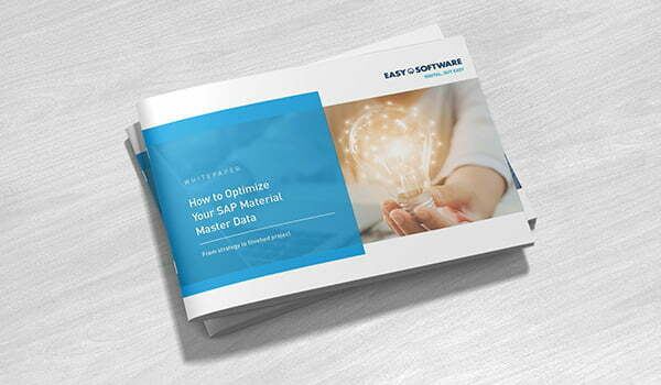 Whitepaper: How to optimize your material master data – Step by step to a successful project