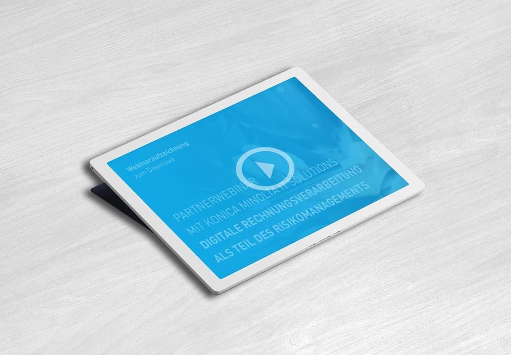 Webinar Digitale Rechnungsverarbeitung als Teil des Risikomanagements