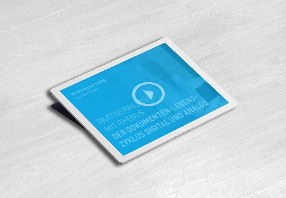 Webinar: Der Dokumenten-Lebenszyklus digital und analog