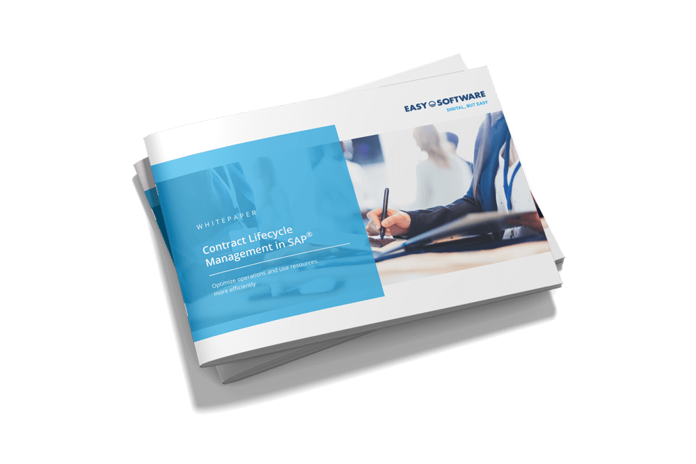 Whitepaper Contract Lifecycle Management in SAP