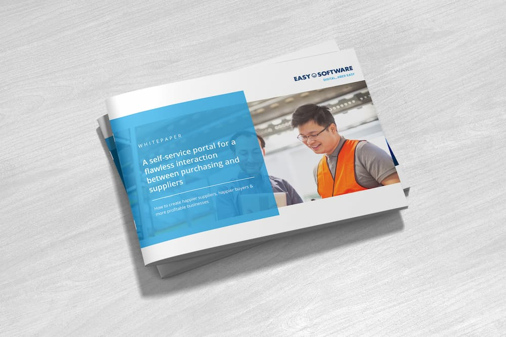 Whitepaper: A self-service portal for a flawless interaction between purchasing and suppliers