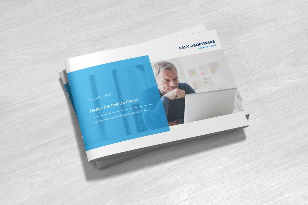 Whitepaper Escape the Invoice Chaos – Into the smart incoming invoice process in SAP!
